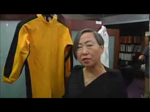 Bruce Lee's Yellow Jumpsuit. Nunchucks to be Sold