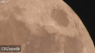 ¿SALVADOREÑO GRABA UN OVNI SOBREVOLANDO LA SÚPER LUNA? 17 DE NOVIEMBRE DE 2016 (EXPLICACIÓN)