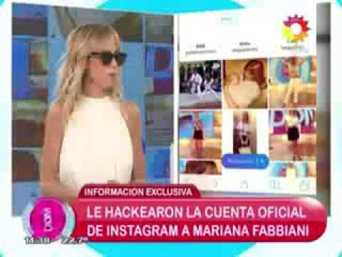 Mariana Fabbiani: Espero que no me hagan mal, yo no he hecho daño a nadie