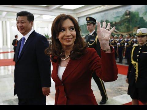 04 de FEB. La Presidenta se reunió con su par de China Xi Jinping. Visita Oficial a China.