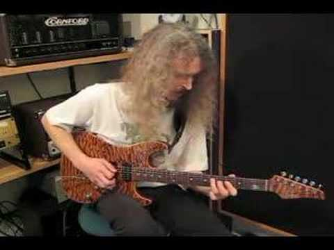 Guthrie Govan playing to Albert King style track