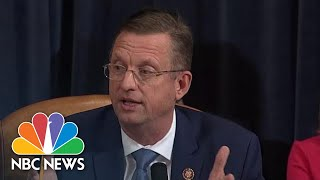 Doug Collins Defends Trump In Closing Statement Of Impeachment Hearing | NBC News