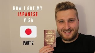 Get Me To JAPAN | WORKING VISA APPLICATION