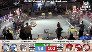 Quarterfinal 1 - 2017 Lake Superior Regional