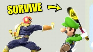Super Smash Bros. Ultimate - Who Can Survive the Home-Run Bat?