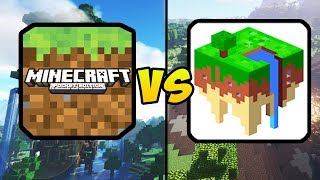 """MINECRAFT POCKET EDITION VS EERSKRAFT"" (Minecraft PE, MCPE, Mobile Games, iOS, Android)"