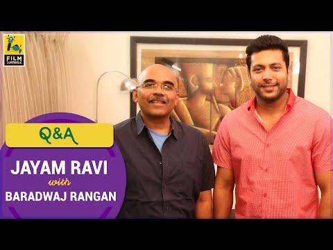 Q&A with Jayam Ravi | Vanamagan