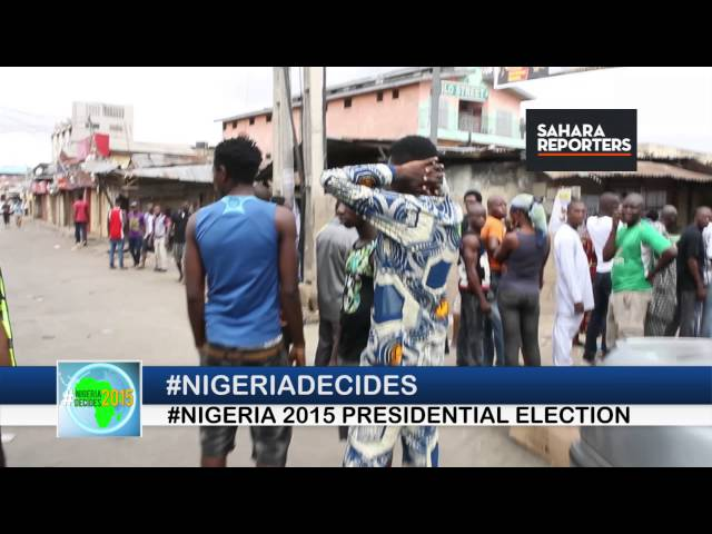 NIGERIA DECIDES - COMPLAINTS ABOUT CARD READERS IN LAGOS