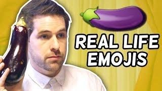 REAL LIFE EMOJIS! (This Week in Smosh)