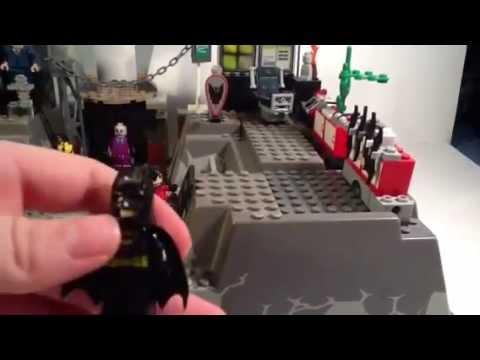 Lego Batman Batcave Custom Lego Batman Custom Batcave re