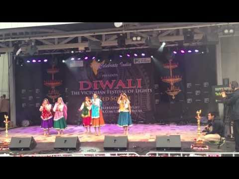 Haryanvi Group Dance Diwali Mela 2013 Melbourne video