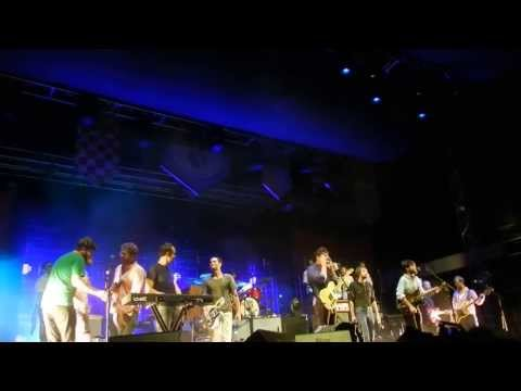 Mumford and Sons w/ The Vaccines - Come Together - St Augustine Stopover