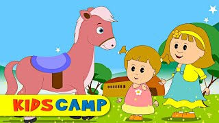 Horsey Horsey - Nursery Rhymes for Children | Cute Baby Songs