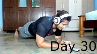 30 DAY PLANK CHALLENGE! SUCCESS