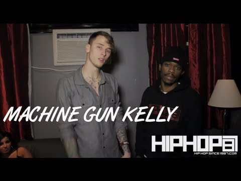 Machine Gun Kelly Talks Black Flag mixtape, Meek Mill record, & Kyrie Irving