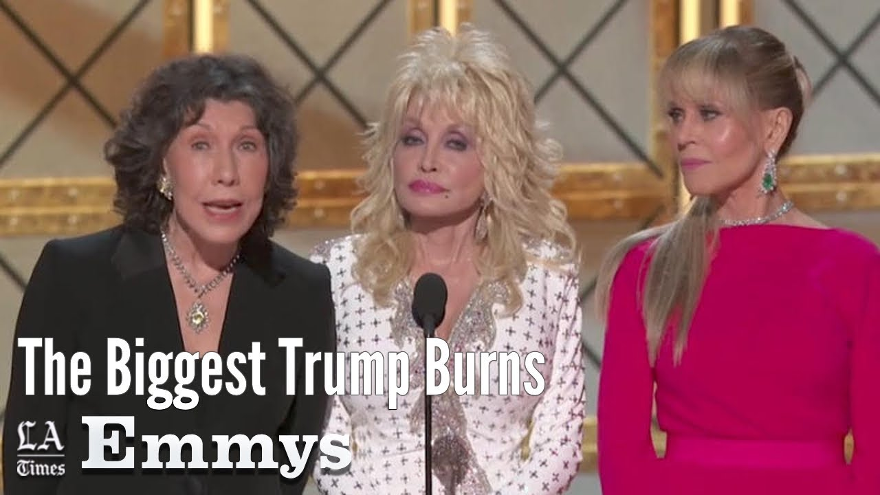 The Biggest Trump Burns From The 2017 Emmy Awards | Los Angeles Times
