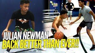 Julian Newman FULL INTENSE Workout! BACK Better Than EVER!