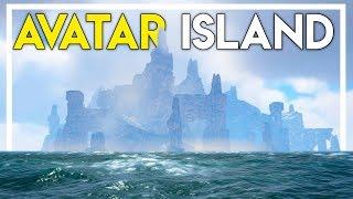 Exploring AVATAR Island & Starting a New Base! (Ark Atlas Gameplay #8)