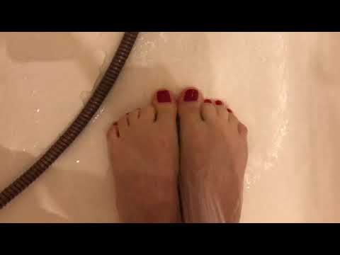 Ножки в душе. Фут Фетиш от Эвы Фетиш. Feet take a shower Foot fetish by Eva Fetish