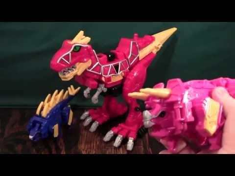Power Rangers Dino Charge Megazord Review (Zyuden Sentai Kyoryger Kyoryujin)