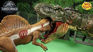 New  Jurassic World Vs Jurassic Park EP1 50 Gallon Surprise Box Dinosaur Toys Fallen Kingdom Mattel