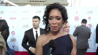 "Gina Torres, ""Talk to me in Spanish!"" 