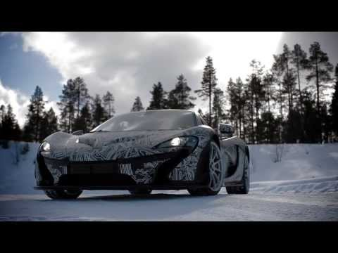 The McLaren P1™: tested to extremes, part 1, ice.
