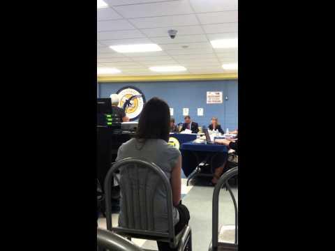 Renee Garrett (Cain) Wayne Central School Public Comment Teachers/Students District spending