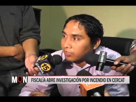 04/03/2015-19:13 FISCALÍA ABRE INVESTIGACIÓN POR INCENDIO EN CERCAT