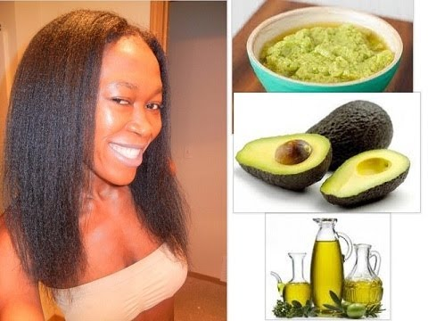 DIY AVOCADO Amp OLIVE OIL HAIR CONDITIONER YouTube