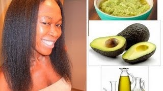 DIY: AVOCADO & OLIVE OIL HAIR CONDITIONER