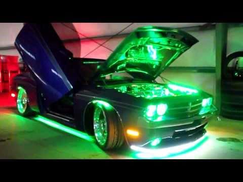 Dodge Challenger SRT8 plum crazy Custom LED Lighting ...