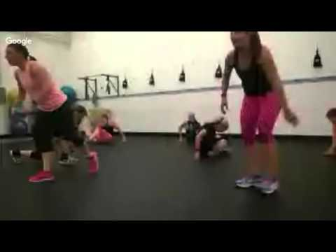 Insanity Live Preview Class At FIT MAMA INC