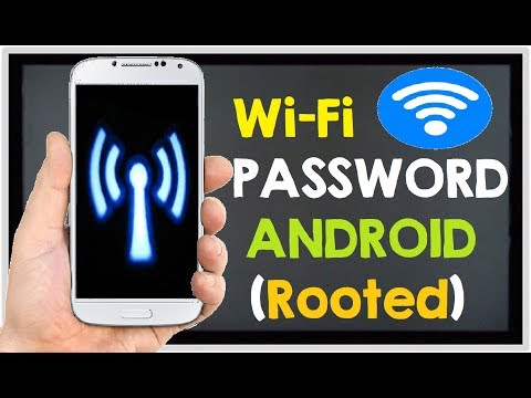 How to See Saved WiFi Passwords on Any Android Phone Rooted 2017 (WiFi Tricks)