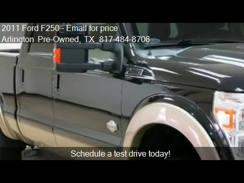 2011 Ford F250 6.7L TURBO DIESEL, KING RANCH, LEATHER, TOW K