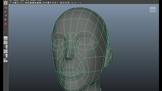 Maya Character modeling tutorial, part 3 - The Head