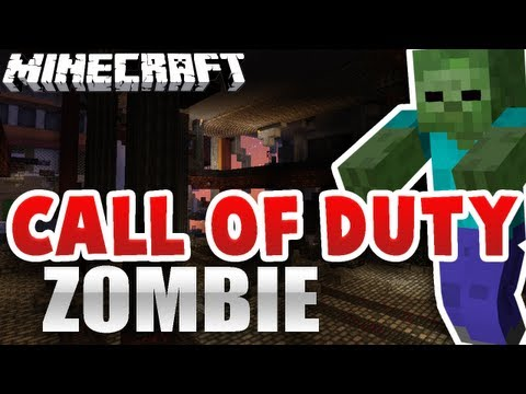 Minecraft : CALL OF DUTY ZOMBIE !! - Mapa Épico :D