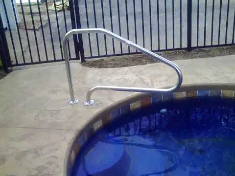 Swimming Pool Handrails A Quick Overview Youtube