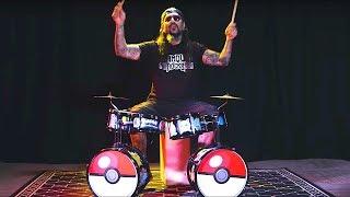 Mike Portnoy: 'Name That Tune' on Pokemon Drum Kit