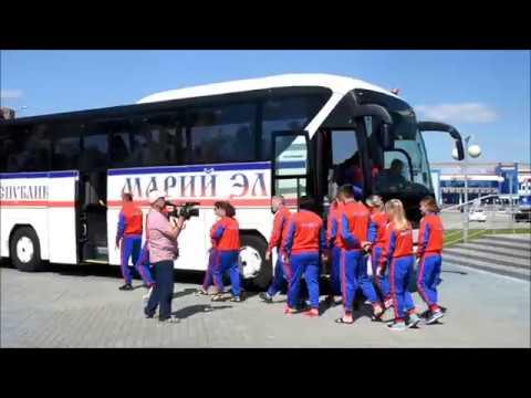 Сборную Марий Эл проводили на Всероссийские летние сельские спортивные игры 2018