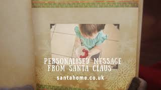 Personalised Message from Santa Claus