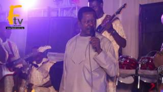 KING SUNNY ADE AND ALAAFIN OYO PERFORMED DRAMA ON STAGE @ LIZY ANJORIN MOVIES PREMIER