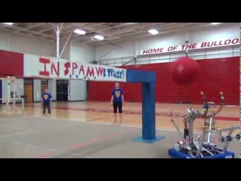 FRC Team 180 S.P.A.M. Robot Release Video 2014