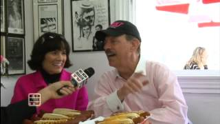 Pink Family Interview - Marlon Brando Day at World Famous Pinks Hot Dogs
