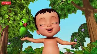 ஆசை ஆசை ஆசை | Tamil Rhymes for Children | Infobells