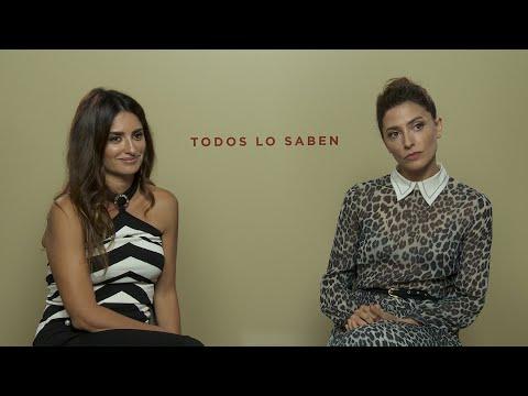 Penélope Cruz y Bárbara Lennie sobre Todos lo saben