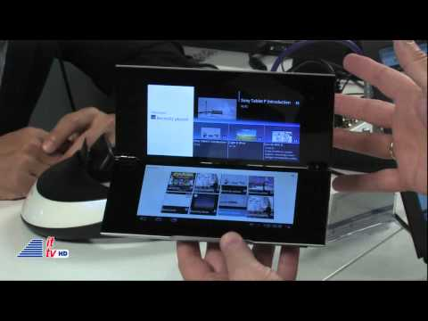 IFA 2011: Sony Interview (New Tablets/Personal 3D Viewer)