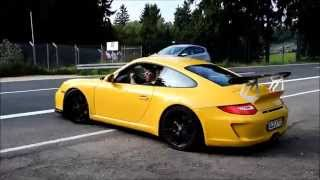 YELLOW and other porsche GT3