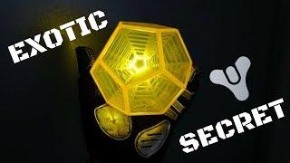 (Patched) EXOTIC ENGRAM SECRET! Destiny 2 Strategy