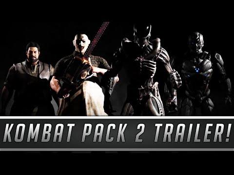 Mortal Kombat X - Kombat Pack 2 OFFICAL TRAILER (LeatherFace, Xenomorph, Bo' Rai Cho & Sektor/Cyrax)